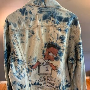 "Custom Refresh ""Black Bart"" Bleached Levi Jacket"
